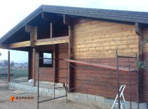 Restaurar casa de madera maciza