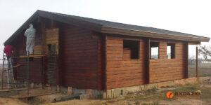 Rehabilitación casa de madera