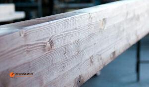 Vigas de madera para pérgolas